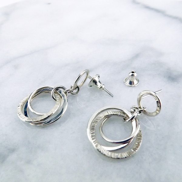 Love Knot Earrings with Backings