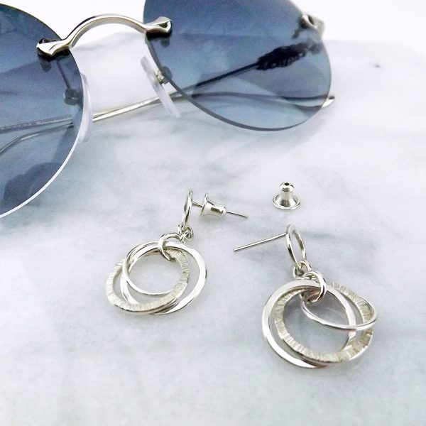 Love Knot Earrings with Sunglasses