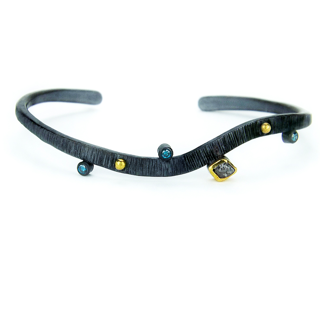 Diamond Cuff Bracelet1