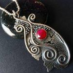 Ruby Pendant by Jamie Santellano